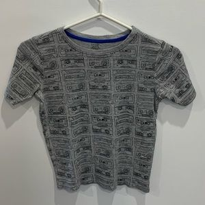 Size 10-12 kids tshirt by George cassettes /so classic and vintage -